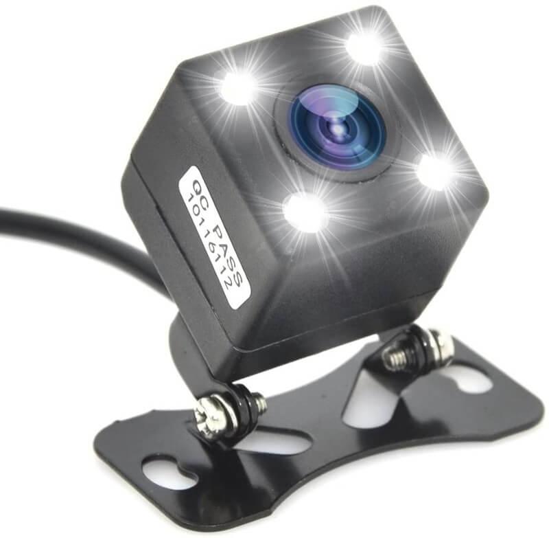 Waterproof-4-LED-Night-Vision-Car-CCD-Rear-View-Camera